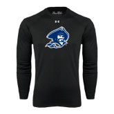 Under Armour Black Long Sleeve Tech Tee-Buccaneer Head