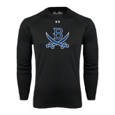 Under Armour Black Long Sleeve Tech Tee-B w/Swords