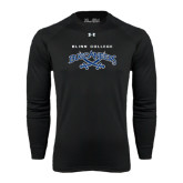 Under Armour Black Long Sleeve Tech Tee-Blinn College Buccaneers