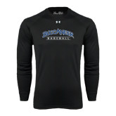 Under Armour Black Long Sleeve Tech Tee-Baseball