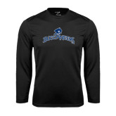 Syntrel Performance Black Longsleeve Shirt-Arched Buccaneers