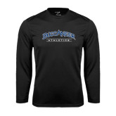 Syntrel Performance Black Longsleeve Shirt-Athletics