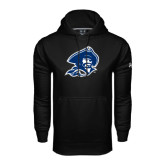 Under Armour Black Performance Sweats Team Hood-Buccaneer Head