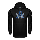 Under Armour Black Performance Sweats Team Hood-B w/Swords