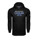 Under Armour Black Performance Sweats Team Hood-Blinn Buccaneers Go Blue