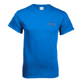 Royal Blue T Shirt-Arched Buccaneers