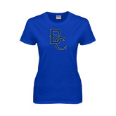 Ladies Royal T Shirt-Interlocking BC