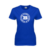 Ladies Royal T Shirt-Alumni Lettermen Association