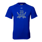 Under Armour Royal Tech Tee-B w/Swords