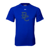 Under Armour Royal Tech Tee-Interlocking BC