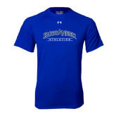 Under Armour Royal Tech Tee-Athletics