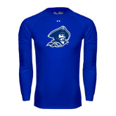 Under Armour Royal Long Sleeve Tech Tee-Buccaneer Head