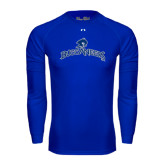 Under Armour Royal Long Sleeve Tech Tee-Arched Buccaneers