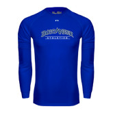 Under Armour Royal Long Sleeve Tech Tee-Athletics