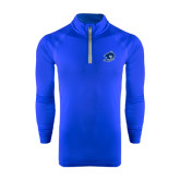 Under Armour Royal Tech 1/4 Zip Performance Shirt-Buccaneer Head