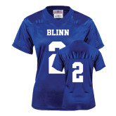 Ladies Royal Replica Football Jersey-#2