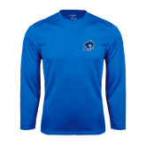 Syntrel Performance Royal Longsleeve Shirt-Buccaneer Head