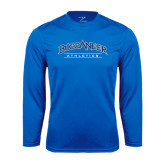 Syntrel Performance Royal Longsleeve Shirt-Athletics