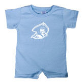 Light Blue Infant Romper-Buccaneer Head
