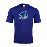 Performance Royal Heather Contender Tee-Buccaneer Head