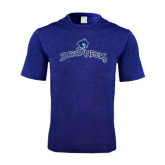 Performance Royal Heather Contender Tee-Arched Buccaneers
