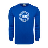 Royal Long Sleeve T Shirt-Alumni Lettermen Association