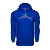 Under Armour Royal Performance Sweats Team Hood-Arched Buccaneers