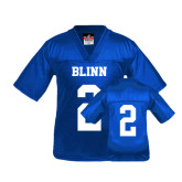 Youth Replica Royal Football Jersey-#2