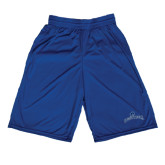 Russell Performance Royal 9 Inch Short w/Pockets-Arched Buccaneers