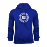 Royal Fleece Hoodie-Alumni Lettermen Association