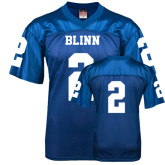 Replica Royal Blue Adult Football Jersey-#2