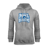 Grey Fleece Hood-Mississippi Bowl Championship