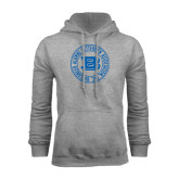 Grey Fleece Hoodie-Alumni Lettermen Association