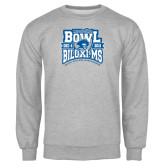 Grey Fleece Crew-Mississippi Bowl Championship