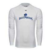 Under Armour White Long Sleeve Tech Tee-Arched Buccaneers