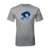 Grey T Shirt-Buccaneer Head