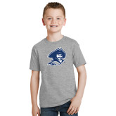 Youth Sport Grey T Shirt-Buccaneer Head