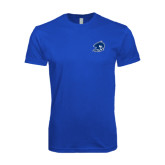 Next Level SoftStyle Royal T Shirt-Buccaneer Head