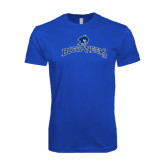 Next Level SoftStyle Royal T Shirt-Arched Buccaneers