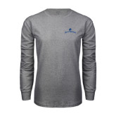 Grey Long Sleeve T-Shirt-Arched Buccaneers