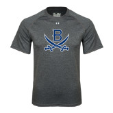 Under Armour Carbon Heather Tech Tee-B w/Swords