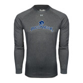 Under Armour Carbon Heather Long Sleeve Tech Tee-Arched Buccaneers
