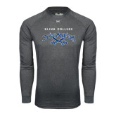 Under Armour Carbon Heather Long Sleeve Tech Tee-Blinn College Buccaneers