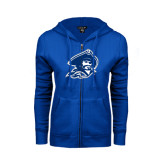 ENZA Ladies Royal Fleece Full Zip Hoodie-Buccaneer Head
