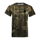 Realtree Camo T Shirt-Buccaneer Head
