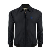 Black Players Jacket-Interlocking BC