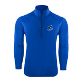 Sport Wick Stretch Royal 1/2 Zip Pullover-Buccaneer Head