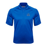 Royal Textured Saddle Shoulder Polo-B w/Swords