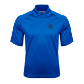 Royal Textured Saddle Shoulder Polo-Interlocking BC