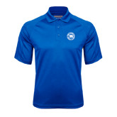 Royal Textured Saddle Shoulder Polo-Alumni Lettermen Association